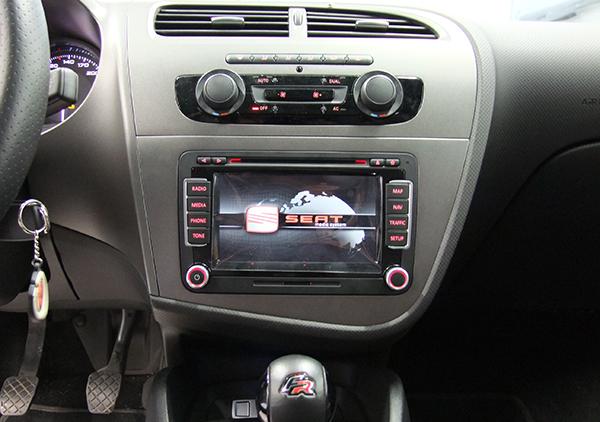 seat leon 1p servicio de instalaci n seat media system rns 510 vag navisystems. Black Bedroom Furniture Sets. Home Design Ideas