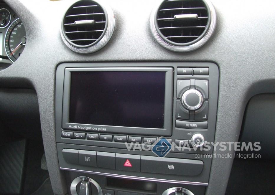 Audi Navigation Plus Rns E Dvd Chrome 8p0035192s Audi A3 S3 Rs3 8p Refurbished A3